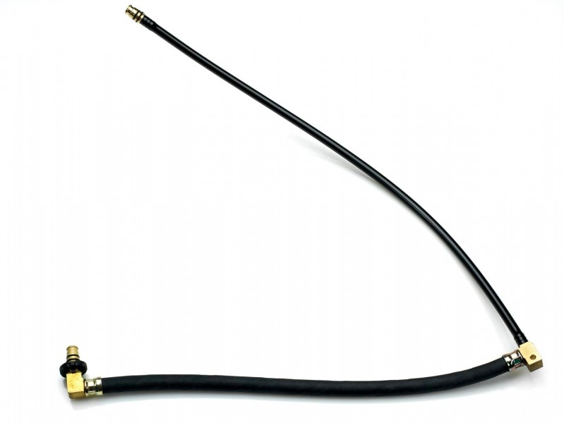 Brake hose with quick connect system 232